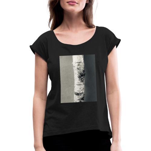 Birken Stamm - Frauen T-Shirt mit gerollten Ärmeln