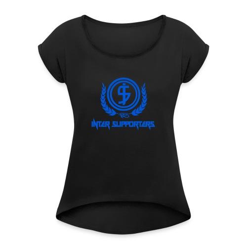 Inter Supporters Classic - Maglietta da donna con risvolti