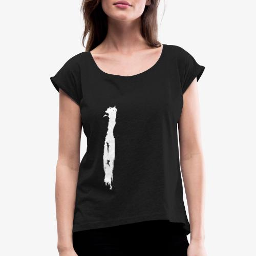 Ice Climbing - ice climbing - Women's T-Shirt with rolled up sleeves