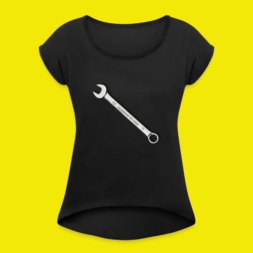 KEY OF GARAGE - LIMITED EDITION - T-shirt à manches retroussées Femme