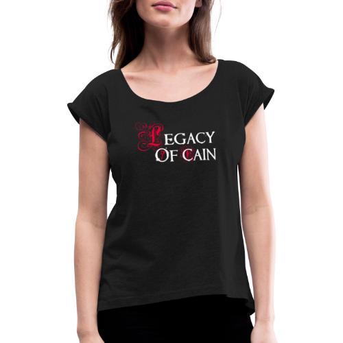 Legacy of Cain - Maglietta da donna con risvolti