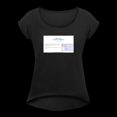 Fin den there - Women's T-Shirt with rolled up sleeves