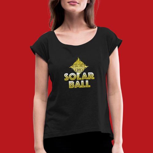 Solar Ball - T-shirt à manches retroussées Femme