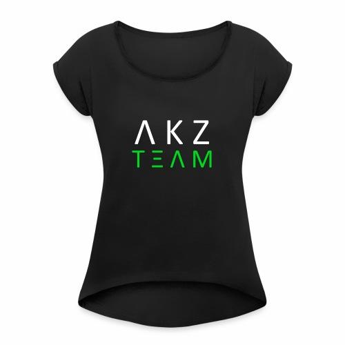 AKZProject Team - Edition limitée - T-shirt à manches retroussées Femme