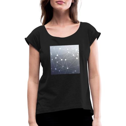 starts 1 - Women's T-Shirt with rolled up sleeves