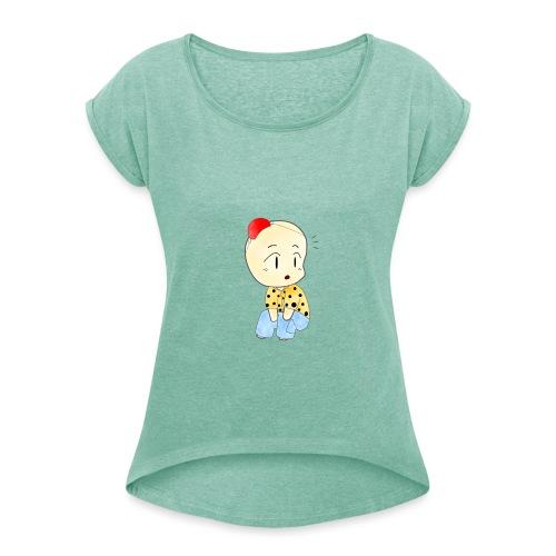 CLOWN RUNDO - Maglietta da donna con risvolti