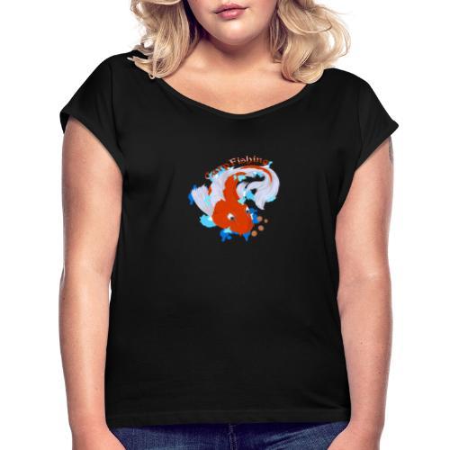Carpa Koi - Carp Fishing - Maglietta da donna con risvolti