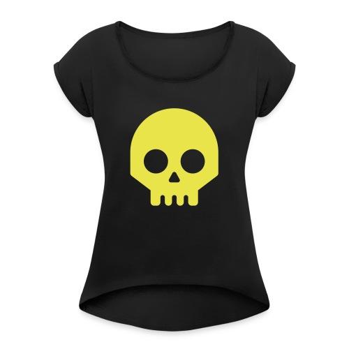 Vikisijästä tekijäksi - Naisten T-paita, jossa rullatut hihat