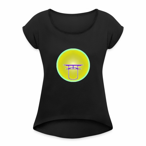 Home - Healer - Women's T-Shirt with rolled up sleeves