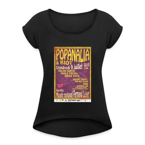 40x60 jpg - T-shirt à manches retroussées Femme
