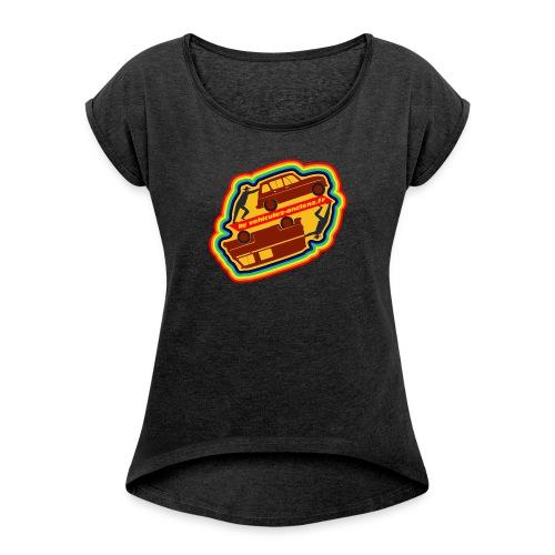 Jamais en panne hippies - T-shirt à manches retroussées Femme