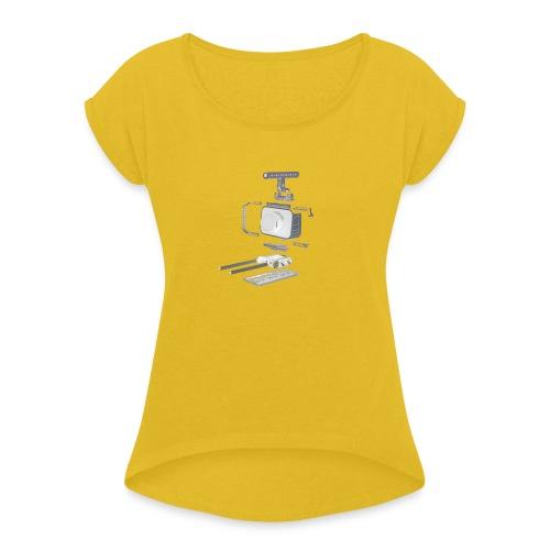 VivoDigitale t-shirt - Blackmagic - Maglietta da donna con risvolti