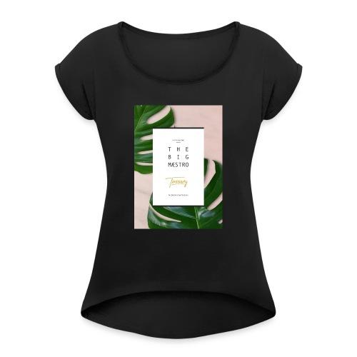 Tassony manifesto - canotta - Maglietta da donna con risvolti