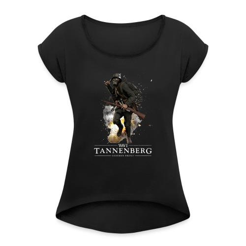Official Tannenberg - Vrouwen T-shirt met opgerolde mouwen