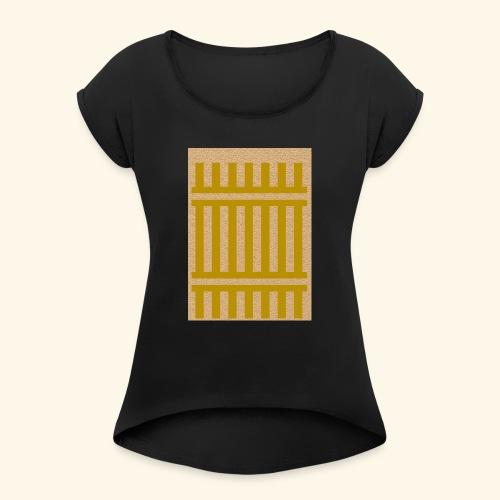 Râ-vie - T-shirt à manches retroussées Femme