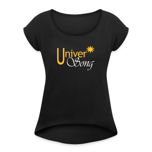 Festival Universong - Camiseta con manga enrollada mujer
