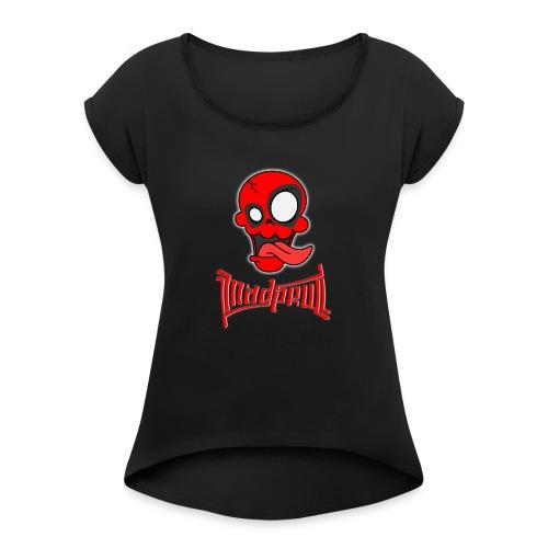 MAD SKULL - Deadpool - Maglietta da donna con risvolti