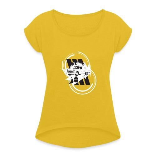 ninho-taxi - Maglietta da donna con risvolti