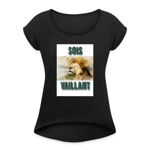 Vaillant - T-shirt à manches retroussées Femme