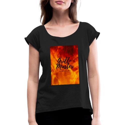 Grill Master 2020 2 - Frauen T-Shirt mit gerollten Ärmeln