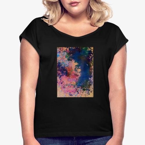 AisahArt - Maglietta da donna con risvolti