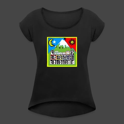 TEKNO SQUAT RESEAU couleur TRIP par TEKNO 23 - T-shirt à manches retroussées Femme