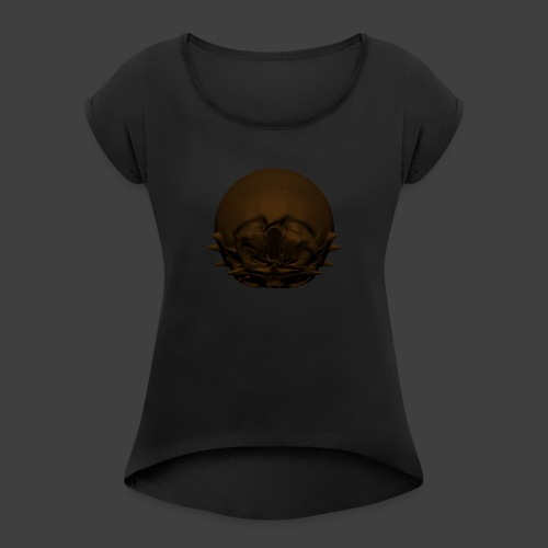 Im thinking - Women's T-Shirt with rolled up sleeves