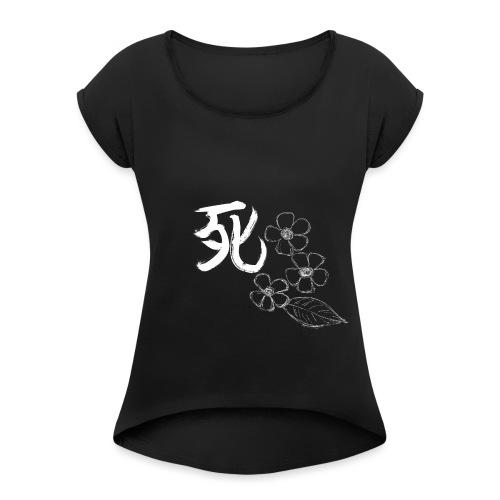 Shi - T-shirt à manches retroussées Femme