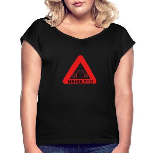 MRHOLST21 youtube - Dame T-shirt med rulleærmer