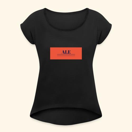 maglia con nome - Maglietta da donna con risvolti
