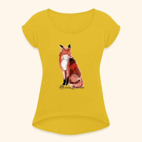 FOX - Maglietta da donna con risvolti