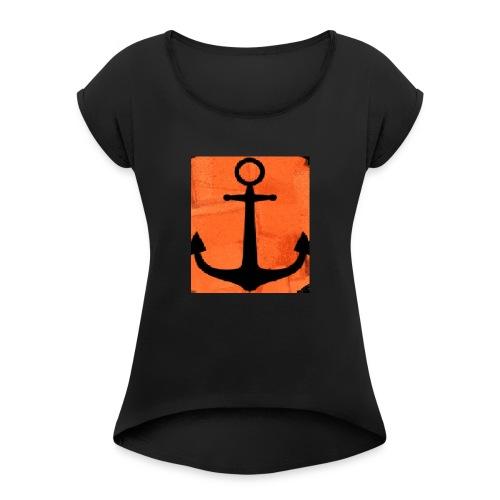 ANCRES - T-shirt à manches retroussées Femme