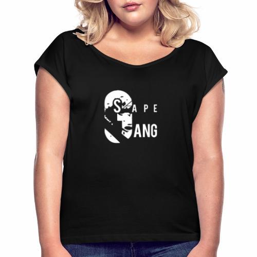 GANG SAPE - T-shirt à manches retroussées Femme