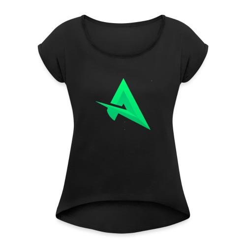 Logo Del Canal AnyelLord27 - Camiseta con manga enrollada mujer