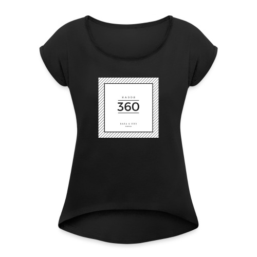 February - Women's T-Shirt with rolled up sleeves