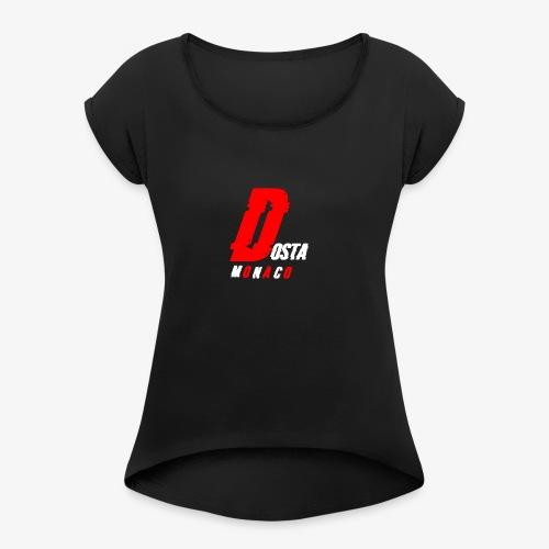 dosta - T-shirt à manches retroussées Femme