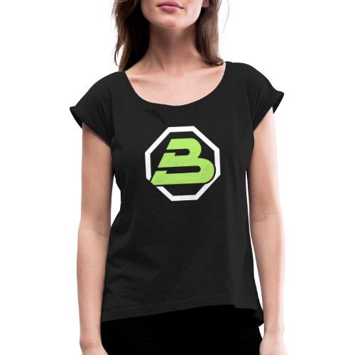 Blacktron 2 - T-shirt à manches retroussées Femme