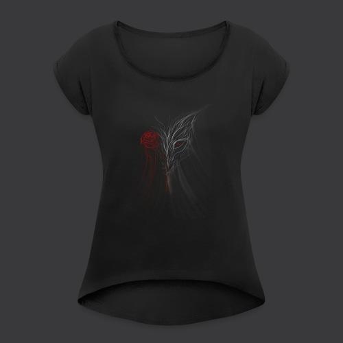WOLFROSS - Maglietta da donna con risvolti