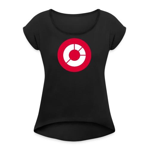 extraETF - Frauen T-Shirt mit gerollten Ärmeln