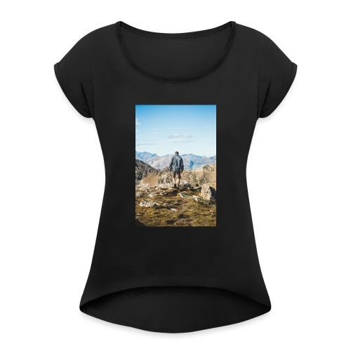 Nature - T-shirt à manches retroussées Femme