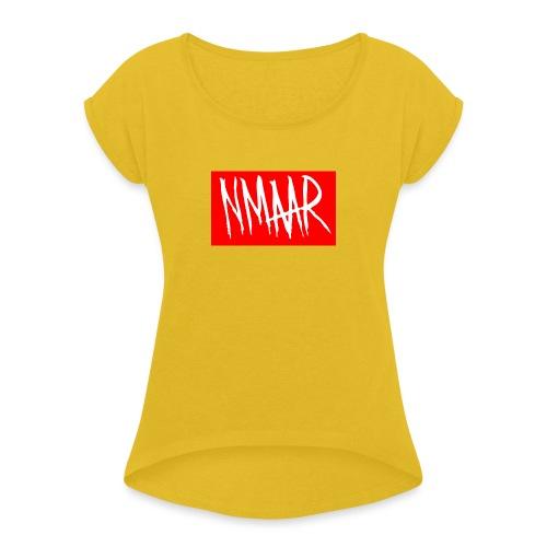 Logo Shirt - Dame T-shirt med rulleærmer