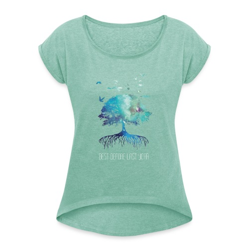 Men's shirt next Nature - Women's T-Shirt with rolled up sleeves