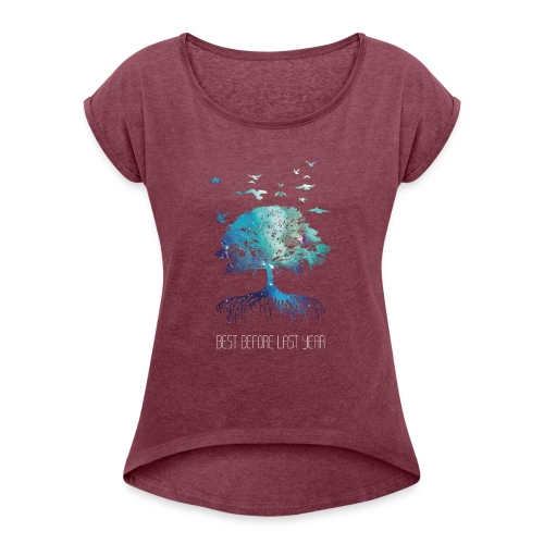Unisex Hoodie Next Nature - Women's T-Shirt with rolled up sleeves