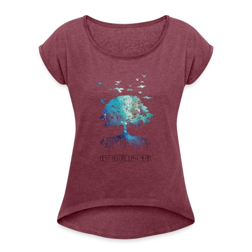 Men's shirt Next Nature Light - Women's T-Shirt with rolled up sleeves