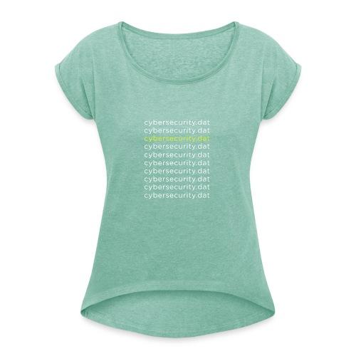 Cyber Security Data Machine Learning - Maglietta da donna con risvolti