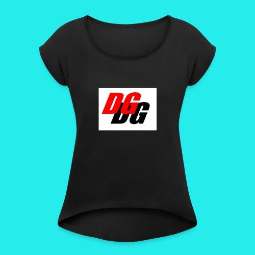 Danipani91 Games || Flex cap - Vrouwen T-shirt met opgerolde mouwen