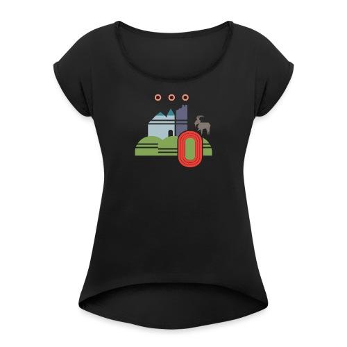 Götzis - Frauen T-Shirt mit gerollten Ärmeln