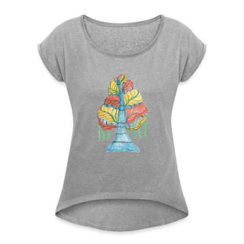 albero_alma_2015 - Maglietta da donna con risvolti