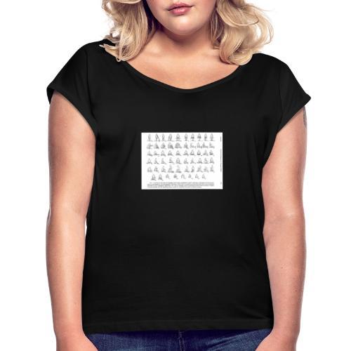 Picture 33 - T-shirt à manches retroussées Femme