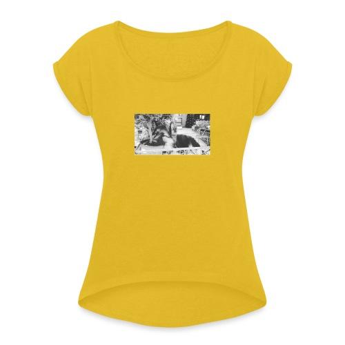 Zzz - Vrouwen T-shirt met opgerolde mouwen